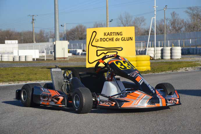 location 2 temps rotax karting