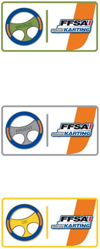 VOLANTS EFK KARTING