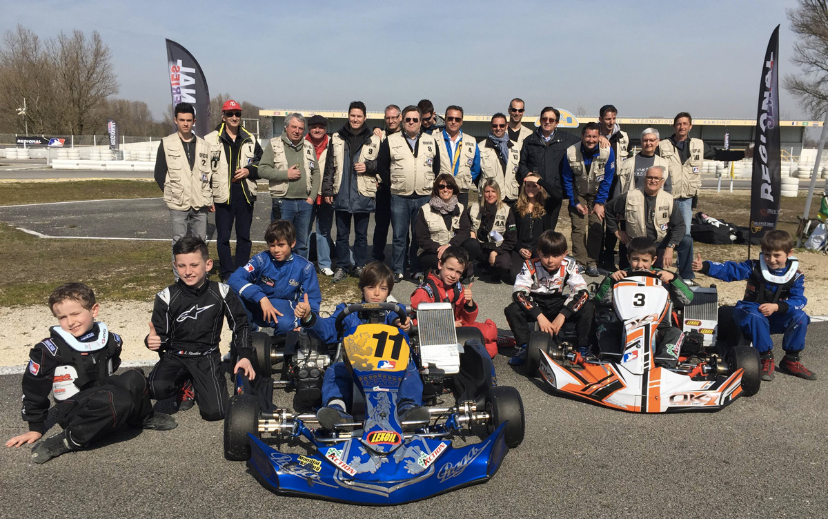 Officiels Karting Valence