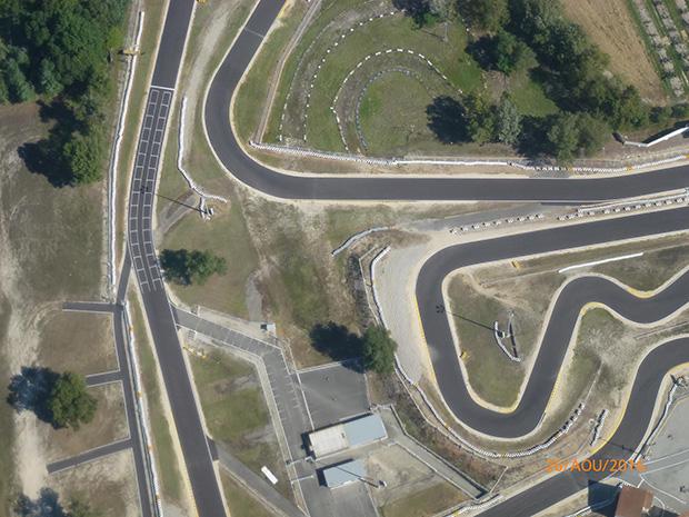 Les Vues A 233 Riennes Du Circuit Circuit Karting Valence La