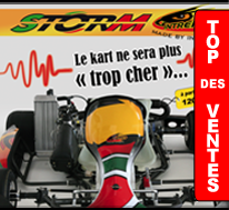 Kart loisir pas cher STORM
