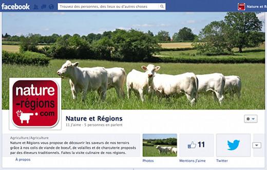 Retrouvez Nature et Régions sur Facebook